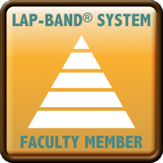 Allergan Lap-band Total Care faculty member emblem