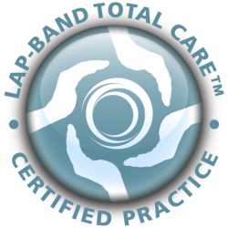 Allergan Lap-band Total Care certified practice emblem