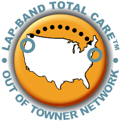 Allergan Lap-band Total Care out of towner emblem